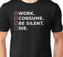 The Good Consumer's Manifesto Unisex T-Shirt
