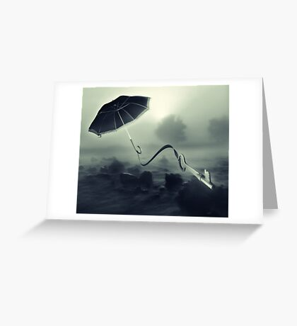 Hope Floats Away Greeting Card