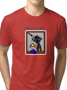 Curious Charlie Tri-blend T-Shirt
