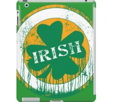 Dripping Irish Shamrock St. Patrick's Day iPad Case/Skin