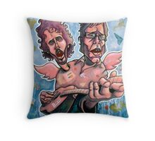 Bret and Jemaine Throw Pillow