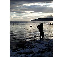 Water at his feet Photographic Print