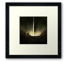 Search For Fire Framed Print