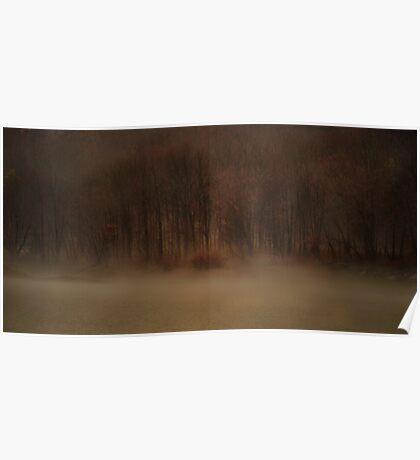 Early Morning Fog Poster