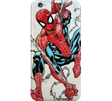Spider-man Swinging iPhone Case/Skin