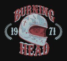 Burning Head by Bishok