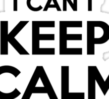 I cant keep calm Im a Merdzanic Sticker