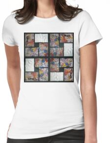 Reach Out Womens Fitted T-Shirt