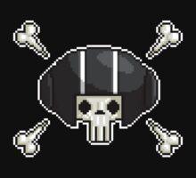 Pixel Skull by squeemish