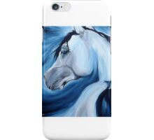 Arabian horse looking back iPhone Case/Skin