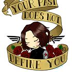bucky says forgive yourself by rhonnnnie