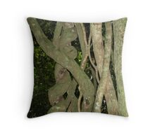 Fight to Death Vine Throw Pillow