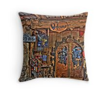 Wiz's House Throw Pillow