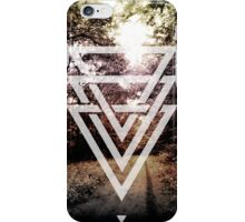 mystic forest triangles iPhone Case/Skin
