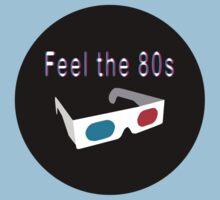 Feel the 80s Kids Tee