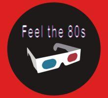 Feel the 80s One Piece - Long Sleeve