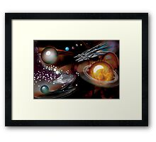 Hyper space overdrive-gone too far into out. Framed Print
