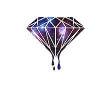 Galaxy Diamond Photographic Print