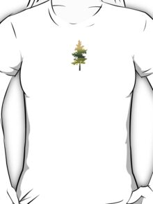 Grounded II - Abstract Tree Art T-Shirt