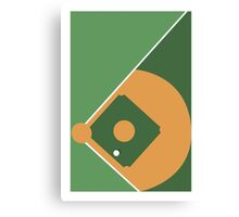 SPORT PERSPECTIVE - BASEBALL Canvas Print