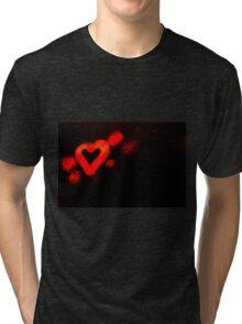 San valentines day Tri-blend T-Shirt