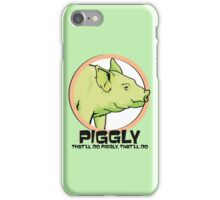 Piggly (also known as Piggly 3) iPhone Case/Skin