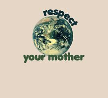 Respect earth day Womens Fitted T-Shirt