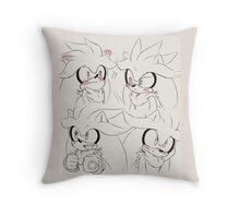 Silver the Hedgehog (Sonic the Hedgehog) Throw Pillow