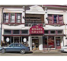 Bisbee Grande Hotel Photographic Print