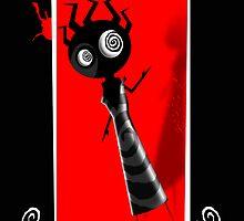 PSYCHO LEGACY CARD 2 by Gavin  North