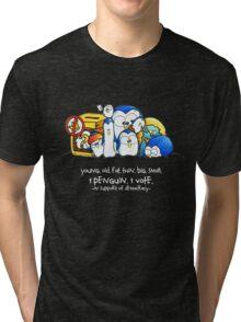 Penguination - 1 Penguin 1 Vote Tri-blend T-Shirt
