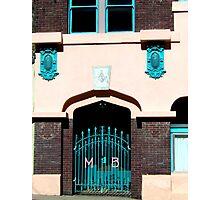 Bisbee Club Building Photographic Print