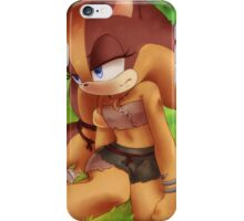 Sticks the Badger (Sonic the Hedgehog) iPhone Case/Skin