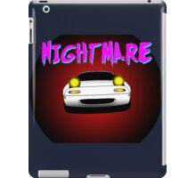 Nightmare miata iPad Case/Skin
