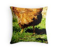 Chicken Legs Throw Pillow