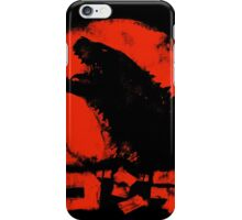 Godzilla14  aka Red Lizard iPhone Case/Skin