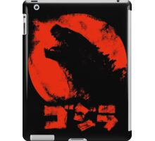 Godzilla14  aka Red Lizard iPad Case/Skin