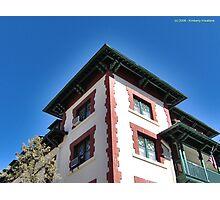 Bisbee Hotel Photographic Print