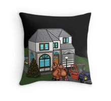 hey baby lets go for a ride Throw Pillow