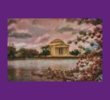 Dawn Over The Jefferson Memorial T-Shirt