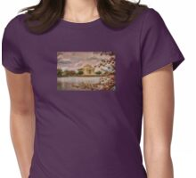 Dawn Over The Jefferson Memorial Womens Fitted T-Shirt