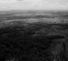 Boonah - From Mt French by Noel Elliot