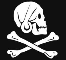Henry Every Pirate Flag Kids Tee