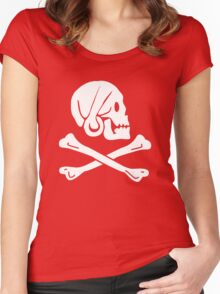 Henry Every Pirate Flag Women's Fitted Scoop T-Shirt