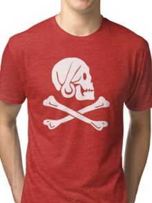 Henry Every Pirate Flag Tri-blend T-Shirt