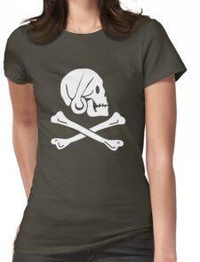 Henry Every Pirate Flag Womens Fitted T-Shirt
