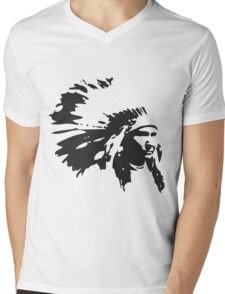 Chief Mens V-Neck T-Shirt