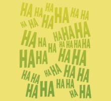 HAHAHA The Laughing T Shirt Kids Clothes