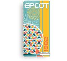 Epcot - 1982 Canvas Print