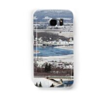 View of Port Williams in Nova Scotia by Bridget Havercroft Samsung Galaxy Case/Skin